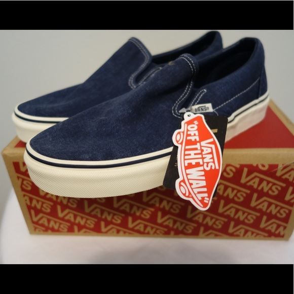 84833ab9f Vans for J Crew washed canvas classic slip-on. M_5c4d1e2a534ef9f61f0d60ff